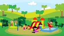 Milhares de pessoas participam do 'Integração Criança'  (TV Integração)