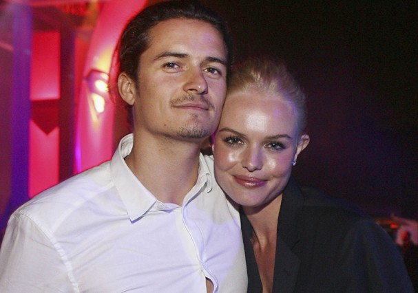 Kate Bosworth e Orlando Bloom (Foto: Getty Images)