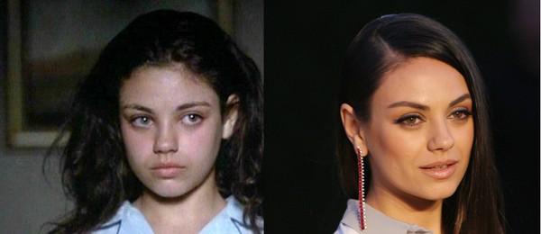 Mila Kunis começou aos 12 anos, em 1995 (Foto: Getty Images)