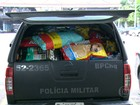 Polícia Militar do RJ arrecada doações para vítimas de Mariana, MG