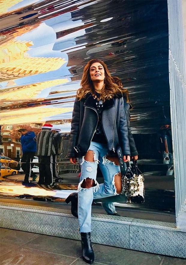 A atriz contou com a ajuda da personal shopper Juliana Jucá para compor as produções (Foto: Divulgação / Instagram)