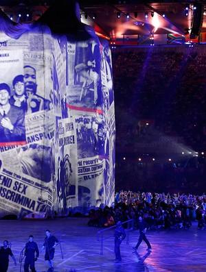 Cerimônia de abertura, Londres, Beatles (Foto: Getty Images)