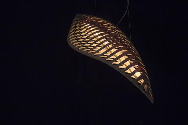 Luminária é inspirada em seres microscópicos do oceano (Foto: Divulgação)