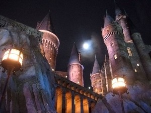 A Hogwarts fictícia no parque Universal (Foto: Ricky Brigante - Inside the Magic - Creative Commons)