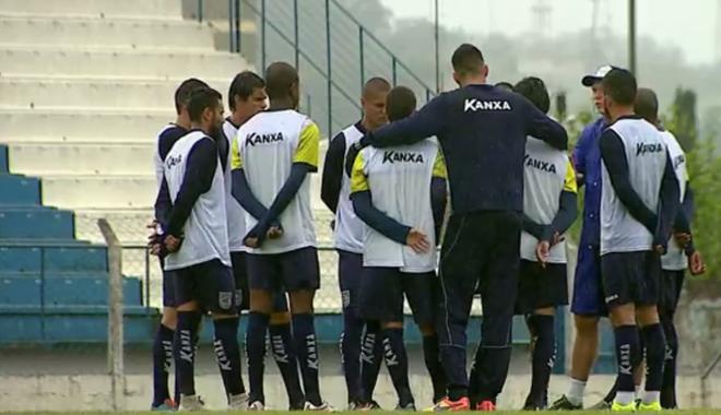 Rio Claro treino (Foto: Reprodução EPTV)