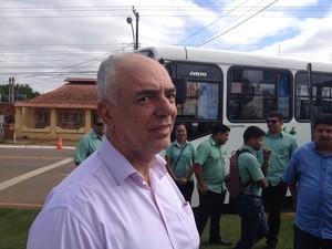 Prefeito garantiu que não vai conceder aumento de tarifa (Foto: Ísis Capistrano/ G1)