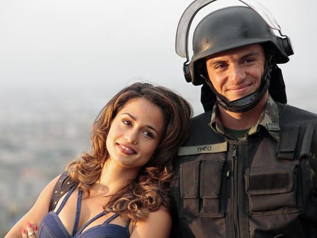 Théo e Morena são os protagonistas de Salve Jorge (Foto: Salve Jorge/TV Globo)