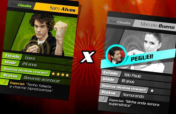 card batalha 3 (Foto: The Voice Brasil/TV Globo)
