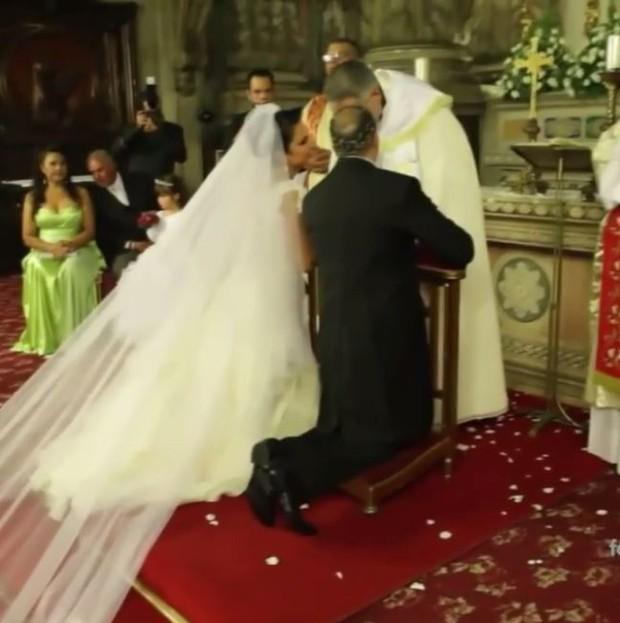 Gracyanne Barbosa comemora 4 anos de casada com Belo (Foto: Instagram / Reprodução)