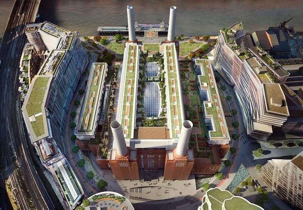 Como deve ficar a Battersea Power Station (Foto: Divulgação)