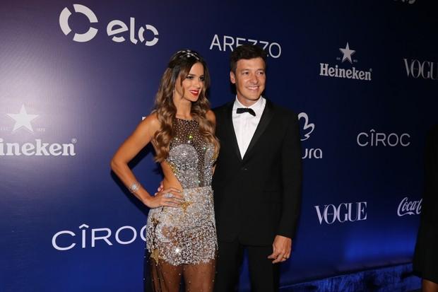 Rodrigo Faro e Vera Viel (Foto: Deividi Correa / AgNews)