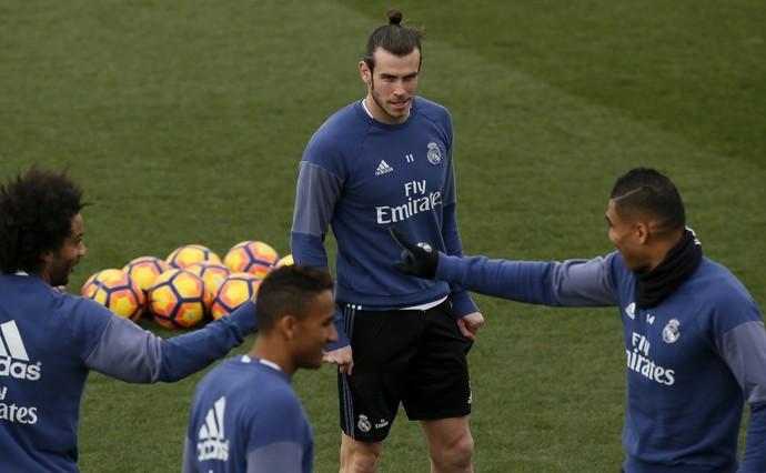 Bale Real Madrid treino (Foto: Efe)