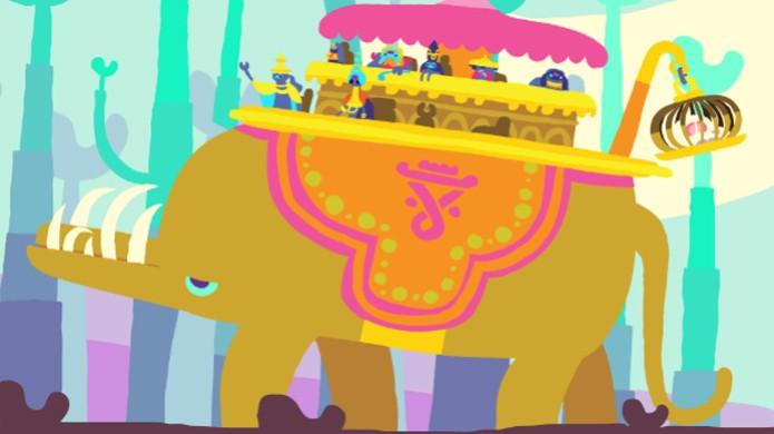 Este elefante é o que há mais próximo de um chefe em Hohokum (Foto: nerdist.com) (Foto: Este elefante é o que há mais próximo de um chefe em Hohokum (Foto: nerdist.com))