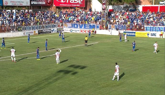 Cruzeiro e América TO (Foto: Reprodução/ Premiere)