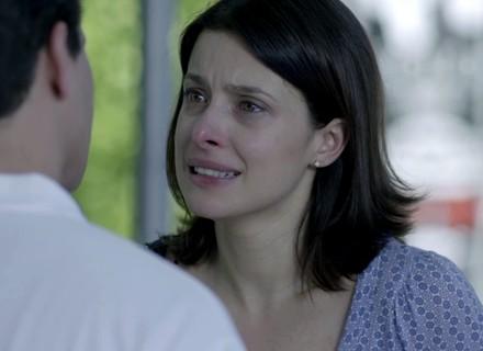 Teaser: Cíntia rompe com Júlio e pede que ele não a procure mais