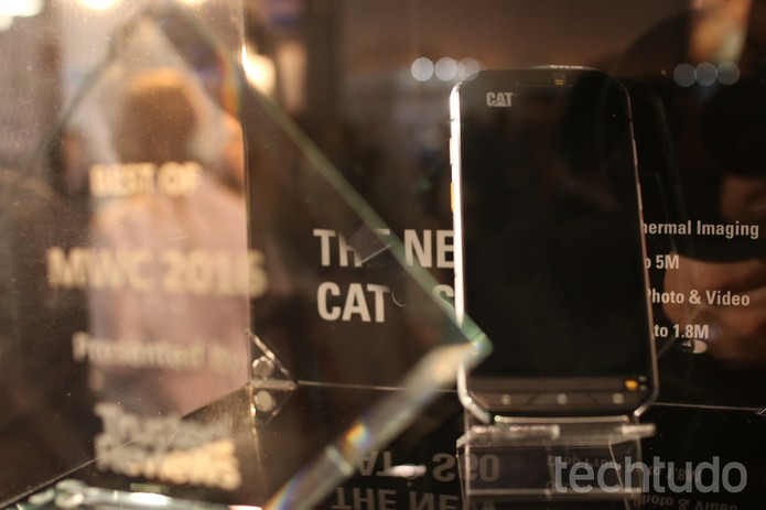 CAT S60 (Foto: Fabrício Vitorino/TechTudo)