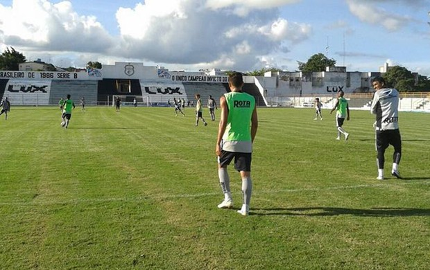 Treino do Treze no Estádio Presidente Vargas (Foto: Divulgação / Treze)