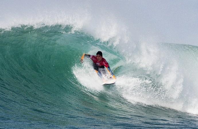 Gabriel Medina em ação na 2ª fase da etapa de Jeffreys Bay (J-Bay) Mundial de Surfe (Foto: WSL / Cestari)