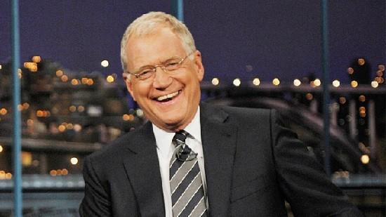 David Letterman quando apresentava seu talk show