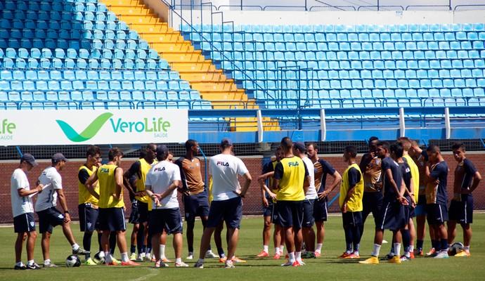 Avaí apresenta (Foto: André Palma Ribeiro/Avaí F. C.)