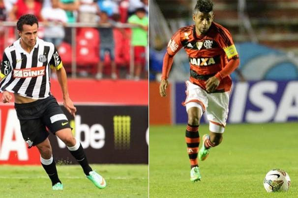 Em partida transmitida para todo o país, Santos enfrenta o Flamengo, no Morumbi, no domingo, dia 25 (Foto: globoesporte.com)