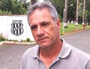 Zé Sérgio, técnico da Ponte Preta Sub-20 (Foto: Reprodução / EPTV)