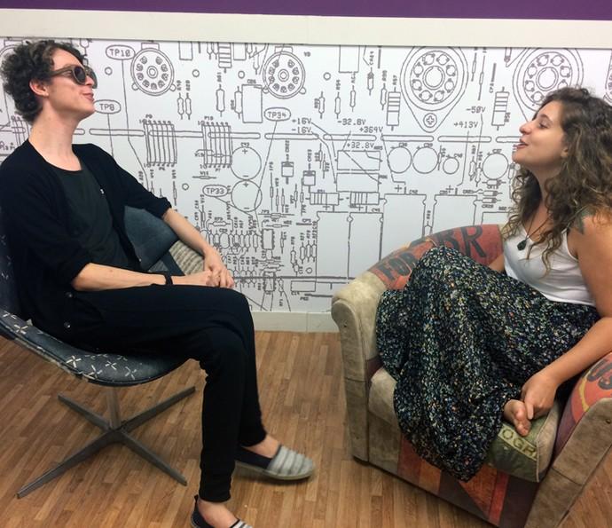 Ayrton Montarroyos e Rebeca Sauwen cantam em MPB (Foto: Gabriella Dias/Gshow)