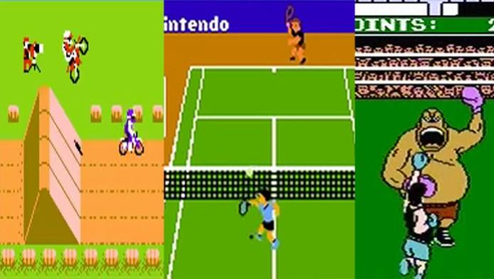 f6d012050 Melhores jogos de esporte da era 8 bits (Foto  Arte  TechTudo)