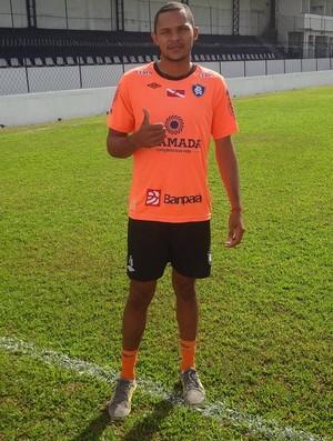 Dida promete esforço com a camisa do Remo (Foto: Gustavo Pêna/GLOBOESPORTE.COM)