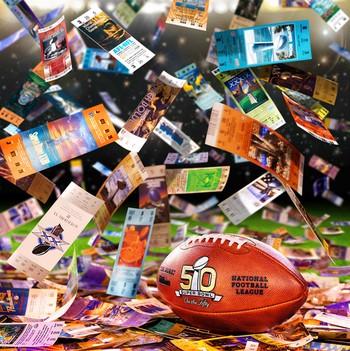 promoção do Super Bowl 50 (Foto: Divulgação)