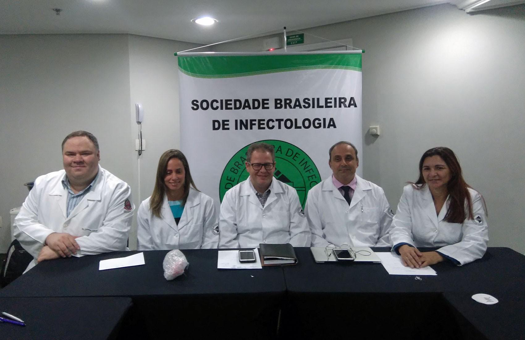 Reunião da Sociedade Brasileira de Infectologia em São Paulo (Foto: Carolina Dantas/G1)