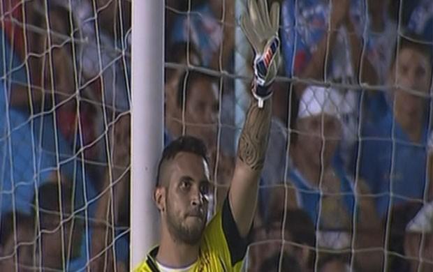 Douglas brilha e salva o Boa Esporte contra o Paysandu (Foto: Reprodução Premiere FC)