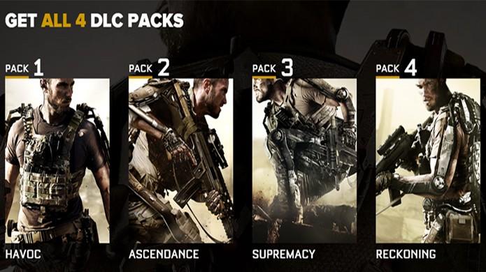 A série Call of Duty costuma vender 4 capítulos de DLC em seu Season Pass (Foto: TechAU)