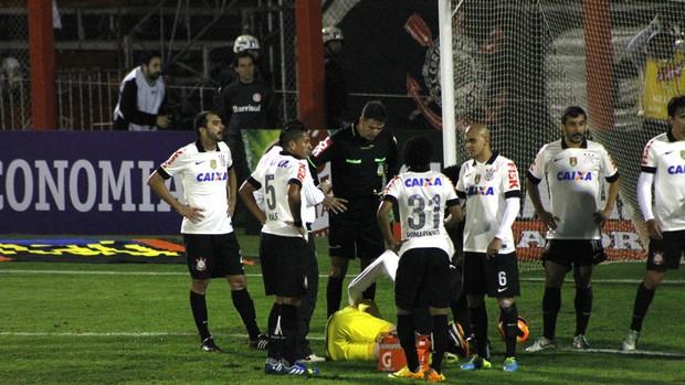 inter internacional corinthians vale brasileirão cássio damião (Foto: Diego Guichard/Globoesporte.com)