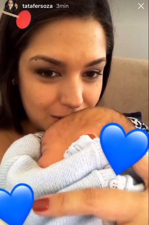 Thais e Teodoro: amor (Foto: Reprodução Instagram)