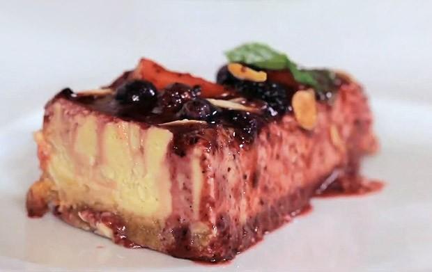 [620] Cheesecake Philadelphia (Foto: GNT/Reproduo TV)