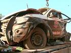 Capotagem mata policial e detento a caminho da cadeia em Bebedouro, SP