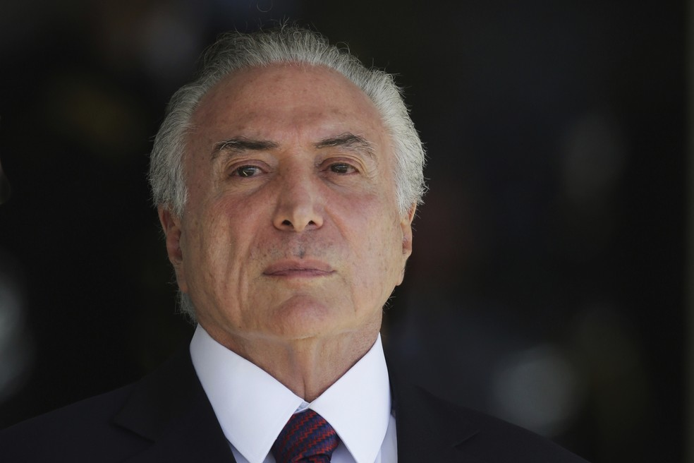 O presidente Michel Temer (Foto: AP Photo/Eraldo Peres)