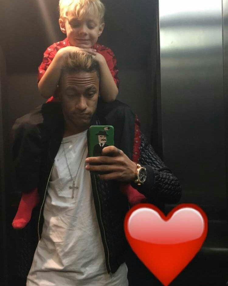Neymar Jr Ganha Homenagem Fofa Do Filho No Aniversário De