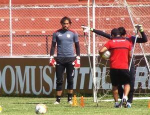 Goleiro do Paulista, Felipe Gomes (Foto: Divulgação/Paulista FC)