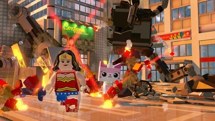 O famoso Jato Invisível da Mulher Maravilha é foco de um desafio divertido (Foto: GameInformer)