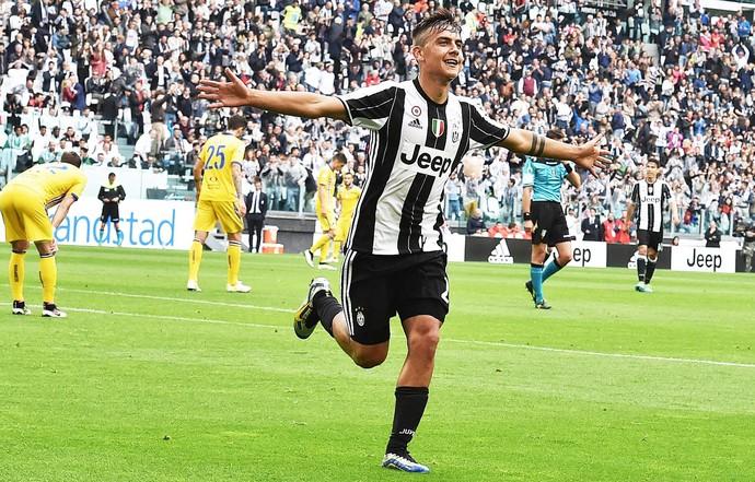 Dybala comemora gol do Juventus (Foto: EFE/Andrea di Marco)