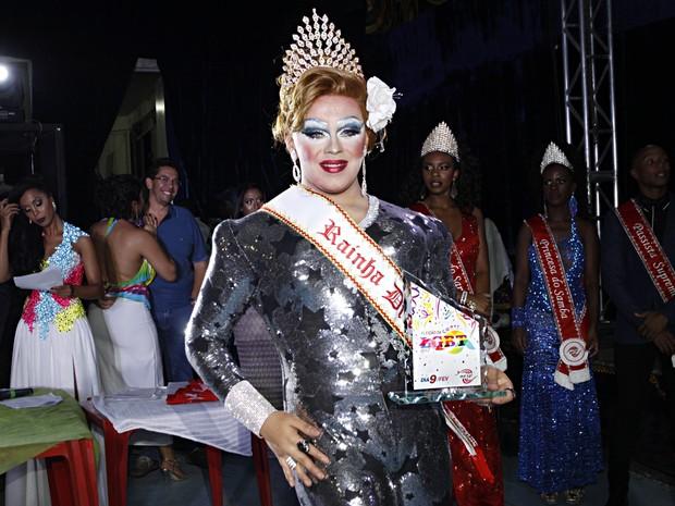 Fabyany Carraro Brasil: Rainha drag (Foto: Celso Tavares/ EGO)