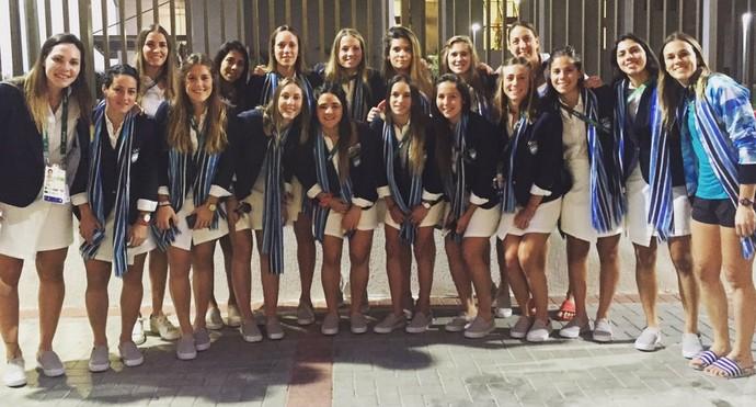 Leonas argentinas na cerimônia de abertura da Olimpíada no Maracanã (Foto: Reprodução / Instagram)