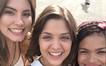 Malu, Jeniffer e Bianca juntinhas (Foto: Malhação)