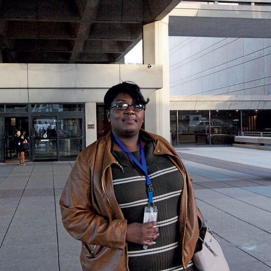 Elizabeth Anderson,gerente do Departamento de Energia e Recursos Naturais,em Washington (Foto: Lourival Sant'Anna/ÉPOCA)