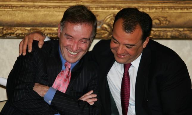 Eike Batista e Sérgio Cabral