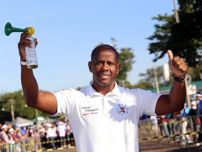 arnaldo oliveira medalhista atlanta (Foto: Divulgação/Caixa)