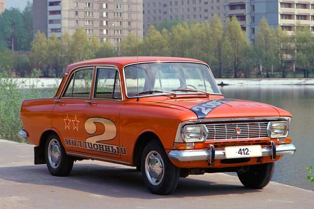 Resistente e aprovado nos mercados ocidentais, Moskovitch 412 foi usado em ralis  (Foto: Divulgação)