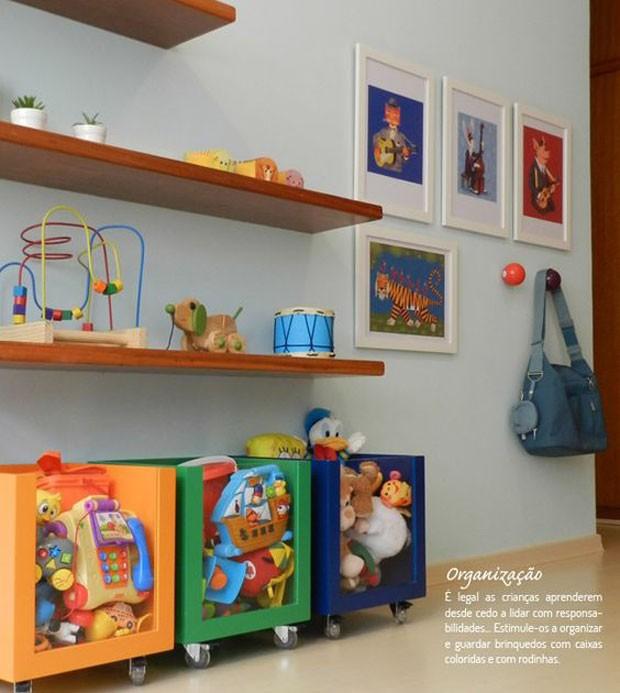 Organizando brinquedos: 10 ideias do Pinterest (Foto: Reprodução; Pinterest)